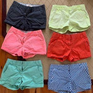 """4"""" J. Crew Chino Shorts Women (Navy)"""